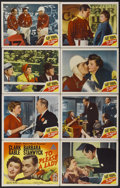"""Movie Posters:Adventure, To Please a Lady (MGM, 1950). Lobby Card Set of 8 (11"""" X 14"""").Adventure.... (Total: 8 Items)"""
