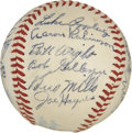 Autographs:Baseballs, 1948 Chicago White Sox Team Signed Baseball. 1948's Chicago WhiteSox are represented here by this spectacular collection o...