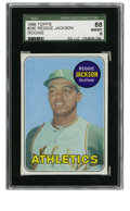 Baseball Cards:Singles (1960-1969), 1969 Topps Reggie Jackson #260 SGC 88 NM/MT 8. Excellent rookie offering comes to us from the '69 Topps baseball issue cour... (Total: 1 cards)