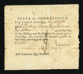 Colonial Notes:Connecticut, Connecticut Fiscal Paper....