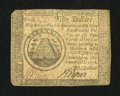 Colonial Notes:Continental Congress Issues, Continental Currency September 26, 1778 $50 Fine....