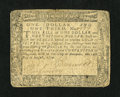 Colonial Notes:Maryland, Maryland August 14, 1776 $1 1/3 Fine-Very Fine....