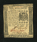 Colonial Notes:Pennsylvania, Pennsylvania April 25, 1776 40s Very Fine-Extremely Fine....
