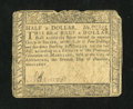 Colonial Notes:Maryland, Maryland December 7, 1775 $1/2 Very Good....