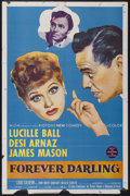 """Movie Posters:Comedy, Forever Darling (MGM, 1956). One Sheet (27"""" X 41""""). Comedy...."""