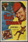 "Movie Posters:Adventure, Trail Blazers (Allied Artists, 1953). One Sheet (27"" X 41"").Adventure...."