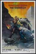 "Movie Posters:Action, The Gauntlet (Warner Brothers, 1977). One Sheet (27"" X 41"").Action...."