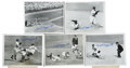 Autographs:Photos, Phil Rizzuto Signed Service Photographs Lot of 15. The man that NewYork Yankee fans adoringly referred to as Scooter has s... (Total:15 items)