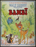 "Movie Posters:Animated, Bambi (Buena Vista, R-1970s). French Grande (47"" X 63""). Animated...."