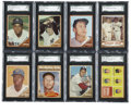 Baseball Cards:Sets, 1962 Topps Baseball Complete Set (598). Offered is a solid middle grade set of 1962 Topps. A total of 11 cards have been gr... (Total: 1 sets)