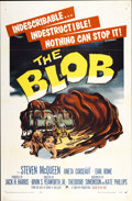 "Movie Posters:Science Fiction, The Blob (Paramount, 1958). One Sheet (27"" X 41"")...."