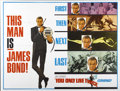 "Movie Posters:James Bond, You Only Live Twice (United Artists, 1967). Subway (41"" X 54"")Advance...."