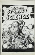 Original Comic Art:Covers, Allen Simon - Picture Stories From Science #3 Unpublished CoverOriginal Art (EC, circa 1947)....