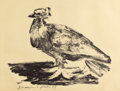 Prints:Contemporary, PABLO PICASSO (Spanish, 1881-1973). Le Gros Pigeon (The FatPigeon), 1947. Lithograph on Arches paper. 19-3/4 x 25-3/4 i...