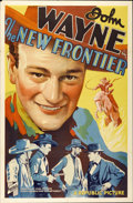 "Movie Posters:Western, The New Frontier (Republic, 1935). One Sheet (27"" X 41"")...."
