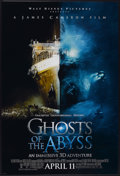 "Movie Posters:Documentary, Ghosts of the Abyss (Buena Vista, 2003). One Sheets (2) (27"" X 40"") Advance DS. Documentary.... (Total: 2 Items)"