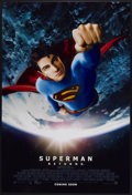 "Movie Posters:Action, Superman Returns (Warner Brothers, 2006). One Sheet (27"" X 40"")Advance DS. Action...."