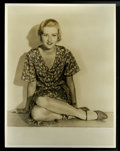 """Movie Posters:Miscellaneous, Evelyn Knapp Publicity Still by Elmer Fryer (First National, 1930s). Still (11"""" X 14""""). Miscellaneous...."""
