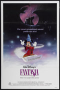 "Movie Posters:Animated, Fantasia (Buena Vista, R-1990). One Sheet (27"" X 41"") SS. Animated...."