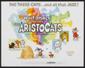 "Movie Posters:Animated, The Aristocats (Buena Vista, 1970). Title Lobby Card (11"" X 14"").Animated...."