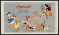 """Movie Posters:Animated, Disney Ingersoll Promo (Walt Disney Productions, 1950s). Promotional Poster (11.25"""" X 19"""")...."""