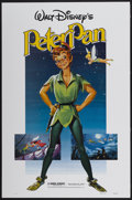 "Movie Posters:Animated, Peter Pan (Buena Vista, R-1982). One Sheet (27"" X 41"").Animated...."