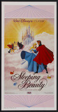 "Movie Posters:Animated, Sleeping Beauty (Buena Vista, R-1980). Australian Daybill (13.25"" X 30""). Animated...."