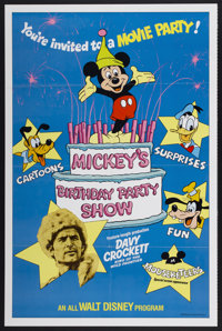 "Mickey's Birthday Party Show (Buena Vista, 1978). One Sheet (27"" X 41""). Adventure"