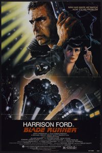 "Blade Runner (Warner Brothers, 1982). One Sheet (27"" X 41""). Science Fiction"