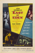 """Movie Posters:Drama, East of Eden (Warner Brothers, 1955). One Sheet (27"""" X 41"""")...."""