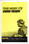 "Movie Posters:Drama, Easy Rider (Columbia, 1969). One Sheet (27"" X 41"") Style C...."