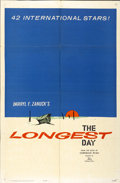 "Movie Posters:War, The Longest Day (20th Century Fox, 1962). One Sheet (27"" X 41"")Advance...."
