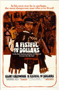 "Movie Posters:Western, A Fistful of Dollars (United Artists, 1967). One Sheet (27"" X41"")...."