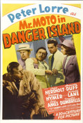 "Movie Posters:Mystery, Mr. Moto in Danger Island (20th Century Fox, 1939). One Sheet (27""X 41"")...."