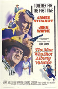 "Movie Posters:Western, The Man Who Shot Liberty Valance (Paramount, 1962). One Sheet (27""X 41"")...."