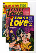 Golden Age (1938-1955):Romance, First Love File Copies Group (Harvey, 1953-52) Condition: Average VF+.... (Total: 4 Comic Books)