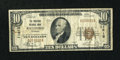National Bank Notes:Vermont, Richford, VT - $10 1929 Ty. 1 The Richford NB Ch. # 11615. ...
