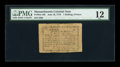 Colonial Notes:Massachusetts, Massachusetts June 18, 1776 1s/8d PMG Fine 12....