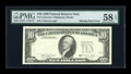 Error Notes:Missing Third Printing, Fr. 2029-? $10 1990 Federal Reserve Note. PMG Choice About Unc 58 EPQ.. ...