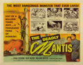 """Movie Posters:Science Fiction, The Deadly Mantis (Universal International, 1957). Half Sheet (22""""X 28"""")...."""