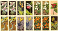 Autographs:Bats, 1960-68 National Wildlife Federation Birds and Flowers (192). Nearly two hundred cards (NM to NM/MT, some lesser). . ... (Total: 192 cards)