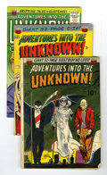 Golden Age (1938-1955):Horror, Adventures Into The Unknown Group (ACG, 1951-65).... (Total: 4Comic Books)