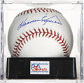 Autographs:Baseballs, Harmon Killebrew Single Signed Baseball, PSA Gem Mint 10.Unimprovable Hall of Fame single, signed by the superb sluggerHar...