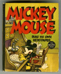 Platinum Age (1897-1937):Miscellaneous, Big Little Book #1409 Mickey Mouse (Whitman, 1937) Condition:VF....