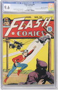 Golden Age (1938-1955):Superhero, Flash Comics #20 Mile High pedigree (DC, 1941) CGC NM+ 9.6 White pages....