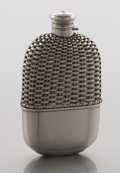 Silver Holloware, American:Flasks, AN AMERICAN SILVER FLASK. Gorham Manufacturing Co., Providence,Rhode Island, circa 1900. Marks: (lion-anchor-G),STERLING...
