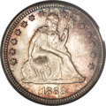 Seated Quarters, 1888-S 25C MS67 PCGS....
