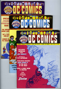 Amazing World of DC Comics Group (DC, 1974-78) Condition: VF.... (Total: 13 Comic Books)