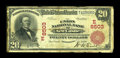 National Bank Notes:Pennsylvania, New Castle, PA - $20 1902 Red Seal Fr. 641 The Union NB Ch. #(E)8503. ...