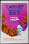 "Movie Posters:Fantasy, Finian's Rainbow (Warner Brothers, 1968). One Sheet (27"" X 41"").Fantasy...."